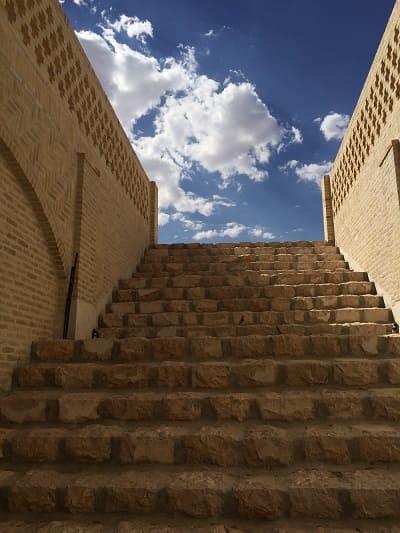 گالری ورودی قنات جوپار کرمان ( ثبت میراث جهانی )