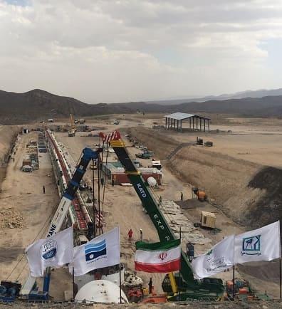 تونل انتقال آب کرمان - قرارگاه خاتم الانبیا