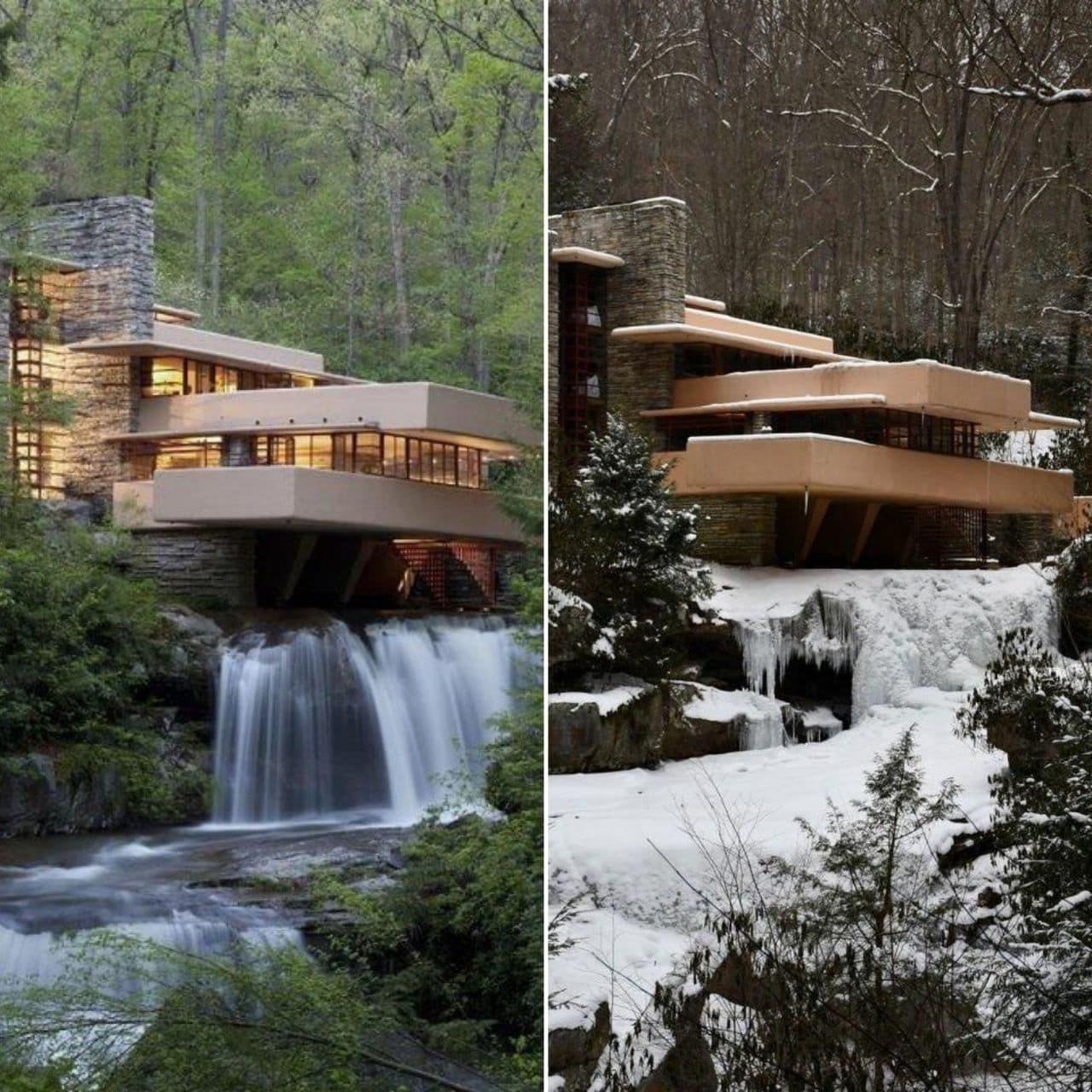خانه آبشار ، فرانک لوید رایت
