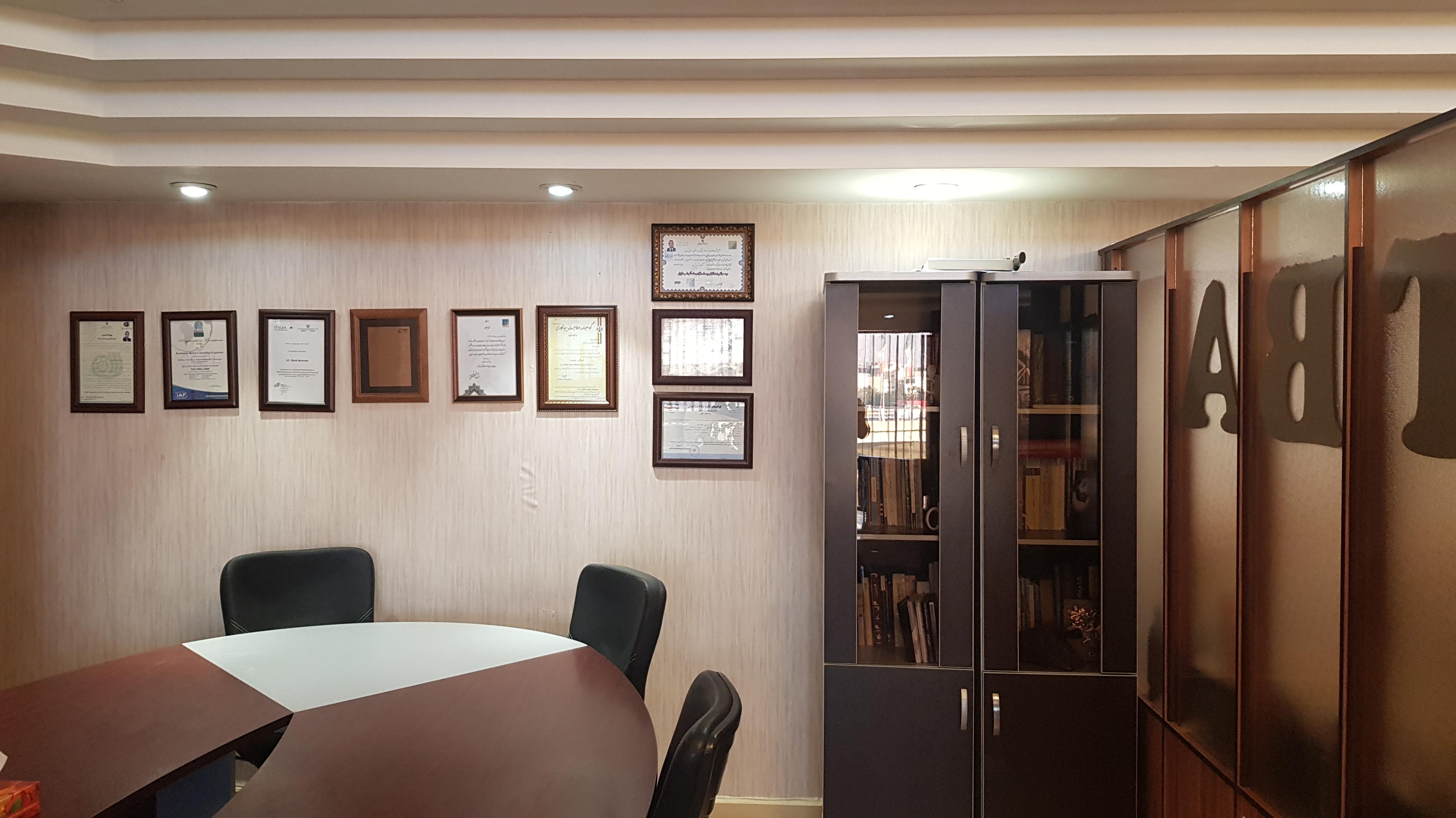 طراحی دکوراسیون اداری ( دفتر کار )  شرکت توسعه بهینه ابنیه -