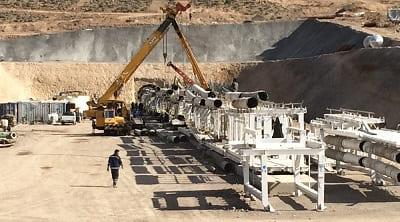 تونل انتقال آب کرمان - قرارگاه خاتم الانبیا شرکت توسعه بهینه ابنیه -