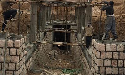 گالری ورودی قنات جوپار کرمان ( ثبت میراث جهانی ) شرکت توسعه بهینه ابنیه -